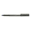 uni-ball® Onyx Roller Ball Stick Dye-Based Pen, Blue Ink, Micro, Dozen SAN60041