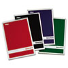 TOPS® Steno Book w/Assorted Colored Covers, 6 x 9, Green Tint, 80 Sheets, 4 Pads/Pack TOP80221