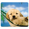 <strong>Fellowes®</strong><br />Recycled Mouse Pad, Nonskid Base, 9 x 8 x 1/16, Puppy in Hammock