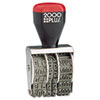 <strong>COSCO 2000PLUS®</strong><br />Traditional Date Stamp, Six Years, 1 3/8 x 3/16""
