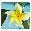 <strong>Fellowes®</strong><br />Recycled Mouse Pad, Nonskid Base, 7 1/2 x 9, Yellow Flowers