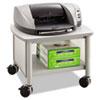 Safco® Impromptu Under Table Printer Stand, 20-1/2w x 16-1/2d x 14-1/2h, Gray SAF1862GR