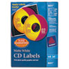 Avery Dennison CD/DVD and Jewel Case Spine Labels