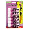 Avery® Permanent Glue Stics, Purple Application, .26 oz, 6/Pack AVE98096