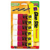 Avery® Permanent Glue Stics, White Application, .26 oz, Stick, 6/Pack AVE98095