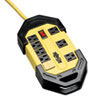 <strong>Tripp Lite</strong><br />Power It! Safety Power Strip, 8 Outlets, 12 ft Cord and Clip, GFCI Plug