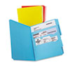 Divide it Up File Folder, Multi Section, 1/2 Cut Tab, Letter, Assorted, 12/Pack