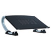 "<strong>Allsop®</strong><br />Redmond Adjustable Curve Notebook Stand, 15"" x 11.5"" x 6"", Black/Silver, Supports 40 lbs"