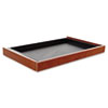 <strong>Alera®</strong><br />Alera Valencia Series Center Drawer, 24.5w x 15d x 2h, Medium Cherry