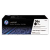 <strong>HP</strong><br />HP 36A, (CB436D) 2-pack Black Original LaserJet Toner Cartridges