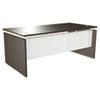 Alera® Alera Sedina Series Straight Front Desk Shell, 72w x 36d x 29 1/2h, Espresso ALESE217236ES