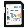 Memorex TravelCard 32 GB SDHC - Class 10 - 1 Card/1 Pack MEM98690