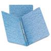 Smead® Side Opening Pressboard Report Cover, Prong Fastener, Letter, Blue SMD81050