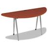 "Balt iFlex Large Half Round - Cherry - Half-round Top - Four Leg Base - 4 Legs - 62"" Table Top Width BLT90004"