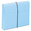 """Smead® 2"""" Exp Wallet with String, Letter, Blue, 10/BX SMD77203"""