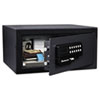 <strong>Sentry® Safe</strong><br />Electronic Security Safe, 0.41 cu ft, 11.4w x 10.4d x 7.6h, Black