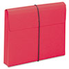 """Smead® 2"""" Exp Wallet with String, Letter, Red, 10/BX SMD77205"""