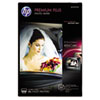 Premium Plus Photo Paper, 11.5 mil, 4 x 6, Soft-Gloss White, 100/Pack