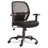Alera® Alera Merix Series Mesh Big/Tall Mid-Back Swivel/Tilt Chair, Black ALEMX4517