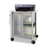 "Safco Impromptu Personal Mobile Storage Center - 1 Shelf - 200 lb Capacity - 4 Casters - 2.50"" Caste SAF5377GR"