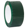 """Duck® Commercial Grd Color-Coding Packaging Tape, 1.88"""" x 109.3yds, 3"""" Core, Green DUC240303"""