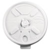<strong>Dart®</strong><br />Lift N' Lock Plastic Hot Cup Lids, Fits 10oz Cups, White, 1000/Carton