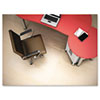 deflect-o® Clear Polycarbonate All Day Use Chair Mat for Hard Floor, 45 x 53 DEFCM21242PC