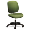 "HON ComforTask Seating Task Chairs w/o Arms - Green Seat - Green Back - 5-star Base - 20"" Seat Width HON5901HNR74T"