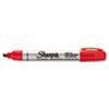 Sharpie® Pro Permanent Marker, Chisel Tip, Red, Open Stock, Dozen SAN1794225