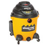 Shop-Vac® Economical Wet/Dry Vacuum, 12gal Capacity, 23lb, Black/Yellow SHO9625110