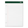 TOPS® Double Docket Writing Pad, 8 1/2 x 11 3/4, Legal/Wide, White, 100 Sheets TOP63379