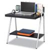 Safco® Xpressions Computer Workstation, 32w x 21d x 34 1/4h, Ebony/Silver SAF1939EB