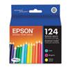 Epson® T124520 (124) DURABrite Ultra Ink, Cyan/Magenta/Yellow, 3/PK EPST124520