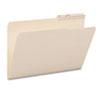 Smead® Guide Height Folder, 2/5 Cut Right, Printed Tab, Legal, Manila, 100/Box SMD15388