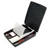 "Extra Storage/Supply Clipboard Box, 1"" Capacity, 8 1/2 x 11, Charcoal"