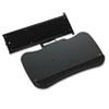 Mayline® Retractable Keyboard Platform, 19½w x 11d, Black MLN19500TA