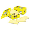 Post-it® Notes Original Pads in Canary Yellow, Cabinet Pack, 3 x 5, 90-Sheet, 18/Pack MMM65518CP