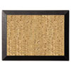 MasterVision™ Natural Cork Bulletin Board, 24x18, Cork/Black BVCSF0422581012