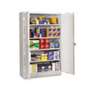 <strong>Tennsco</strong><br />Assembled Jumbo Steel Storage Cabinet, 48w x 24d x 78h, Light Gray