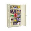 <strong>Tennsco</strong><br />Assembled Jumbo Steel Storage Cabinet, 48w x 18d x 78h, Putty