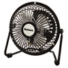 Holmes® Mini High Velocity Personal Fan, One-Speed, Black - HNF0410A-BM