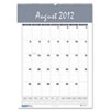 House of Doolittle™ Recycled Bar Harbor Wirebound Academic Monthly Wall Calendar, 15.5x22, 2016-2017 HOD353