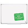 MasterVision™ Earth Easy-Clean Dry Erase Board, 48 x 72, Aluminum Frame BVCMA2700790