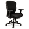 Basyx by HON VL705 Series Big & Tall Mesh Chair, Mesh Back/Fabric Seat, Black BSXVL705VM10