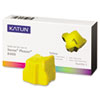 38706 Compatible 108R00607 Solid Ink Stick, Yellow, 3/BX