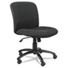 Safco® Uber Series Big & Tall Swivel/Tilt Mid Back Chair, Black SAF3491BL