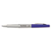Paper Mate® Flair Porous Point Stick Free-Flowing Liquid Pen, Blue Ink, Ultra Fine, Dozen PAP8310152
