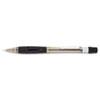 Pentel® Quicker Clicker Mechanical Pencil, 0.5 mm, Transparent Smoke Barrel PENPD345TA