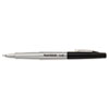 Paper Mate® Flair Porous Point Stick Free-Flowing Liquid Pen, Black Ink, Ultra Fine, Dozen PAP8330152