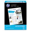 HP LaserJet Paper, 98 Brightness, 24lb, 8-1/2 x 11, Ultra White, 500 Sheets/Ream HEW112400